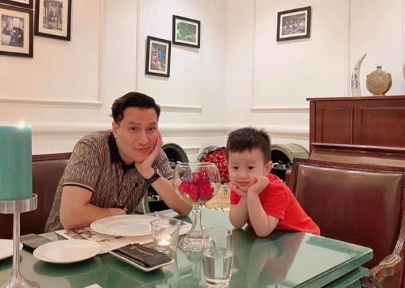 Việt Anh, Việt Anh và con trai, sao việt