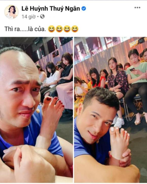diễn viên Thuý Ngân, ca sĩ Trương Thế Vinh, sao Việt,
