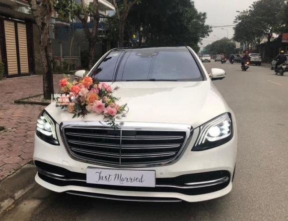 Công Phượng, Đám cưới Công Phượng, Mercedes Maybach
