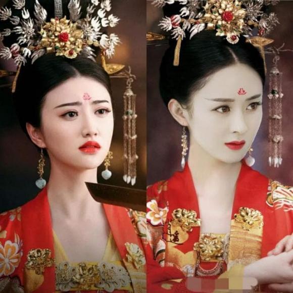 sao hoa ngữ, trang phục cổ trang, Đồng Lệ Á, Lâm Tâm Như, Lý Thấm, Angelababy