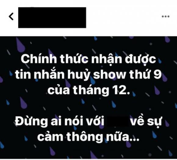 Erik, Hoà Minzy, quản lý nghệ sĩ, Sao Việt, Huỷ show, Covid-19