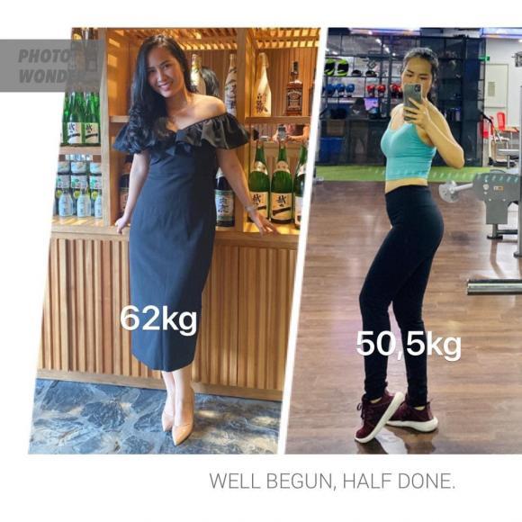 Ca sĩ Minh Hiền tiết lộ thực đơn giúp bản thân giảm gần 12 kg