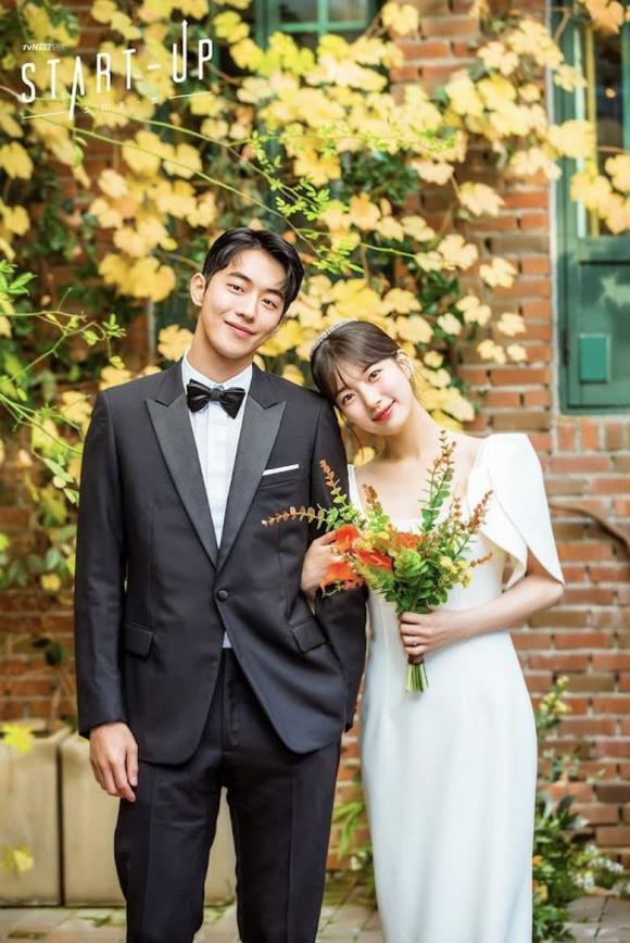 váy cưới của Suzy, phim khởi nghiệp, Nam Joo Hyuk, phim hàn, thời trang sao hàn