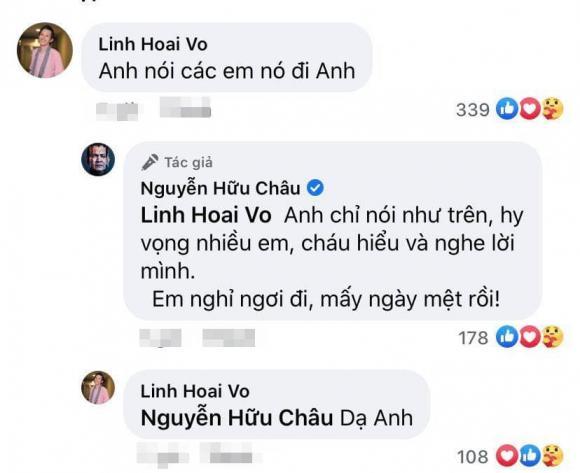 Chí Tài, Hoài Linh, Hữu Châu, cố nghệ sĩ,