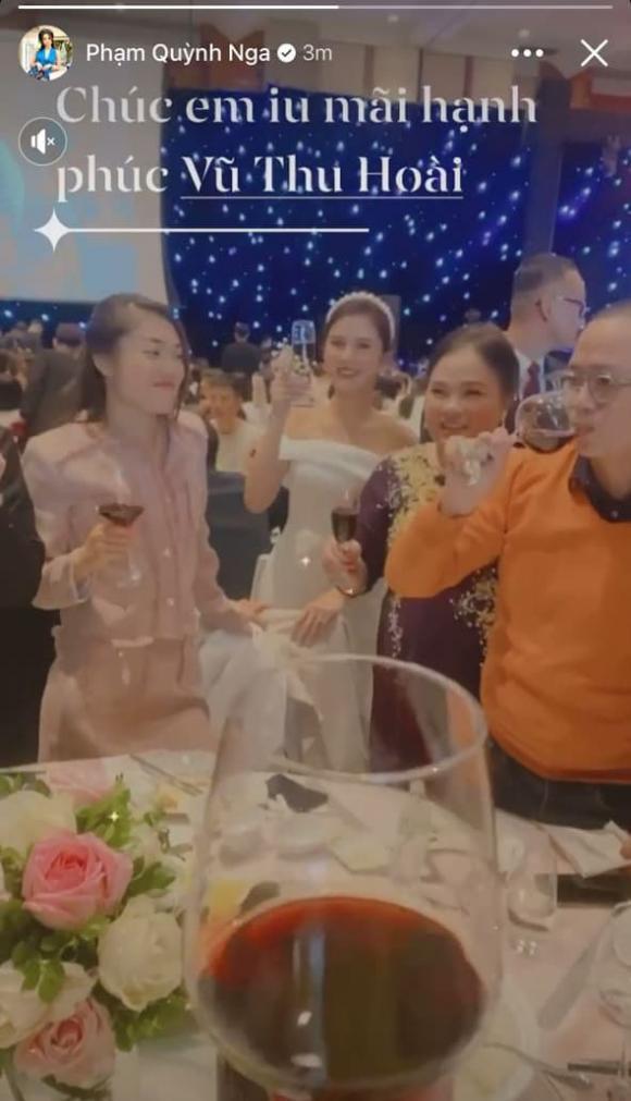 MC Thu Hoài, đám cưới MC Thu Hoài, sao việt
