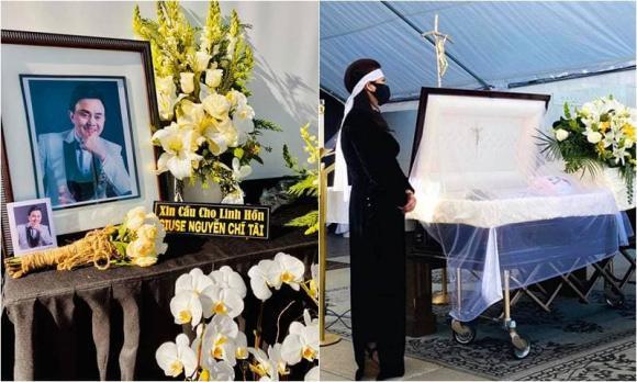 Chí Tài, Phương Loan, tang lễ, sao Việt