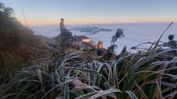 băng tuyết, SaPa, Lào Cai, thời tiết,  Fansipan