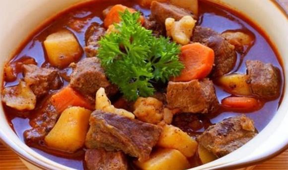 thịt bò, dạy nấu ăn, sốt vang