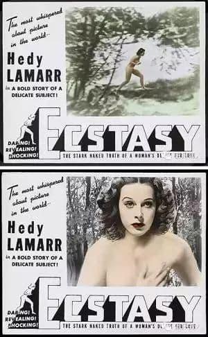 khỏa thân, ngôi sao, Hedy Lamarr