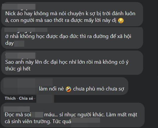 Dân mạng bức xúc vì một thanh niên phát ngôn 'rủa' hàng loạt nghệ sĩ sau sự ra đi của Vân Quang Long