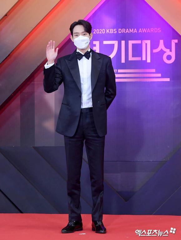 Lễ trao giải phim truyền hình KBS năm 2020, sao Hàn, thảm đỏ sao,