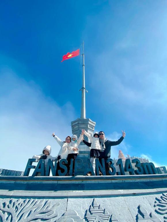 Ốc Thanh Vân, Fansipan, sao việt du lịch