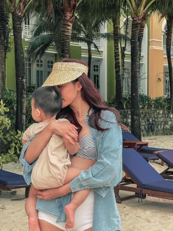 Lan Khuê, John Tuấn Nguyễn, con trai, đi du lịch,
