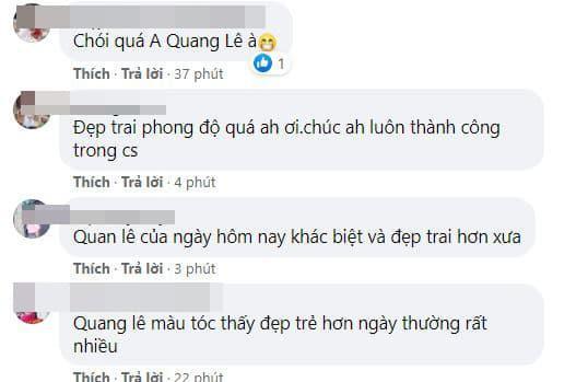 Quang Lê, Quang Lê nhuộm tóc, sao việt