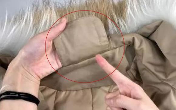 áo khoác, miếng vải thừa trên áo, vì sao