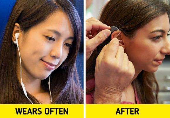 đeo tai nghe, đeo tai nghe lâu, kiến thức