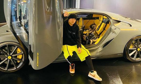 Lâm Vỹ Dạ, Lâm Vỹ Dạ mua xe, sao việt mua xe