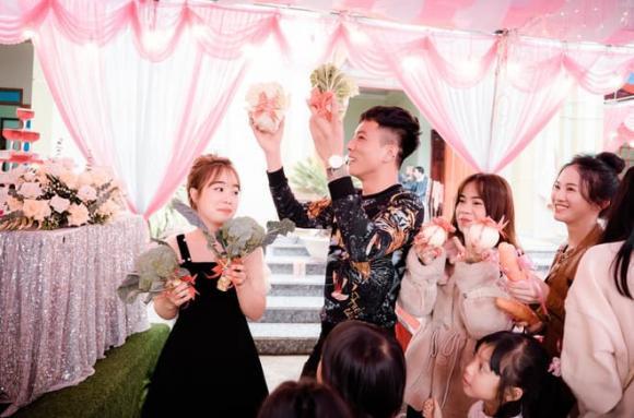 đám cưới, cô dâu, quà tặng, rau xanh