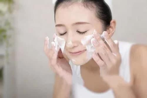 chăm sóc da, rửa mặt, làm đẹp,
