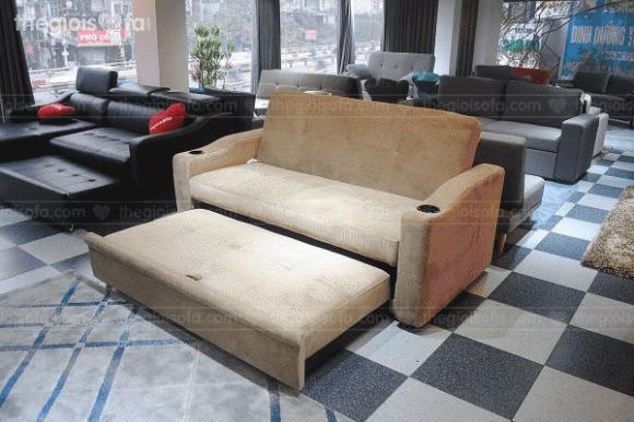sofa giường kéo thông minh, thế giới sofa, sofa nhập khẩu