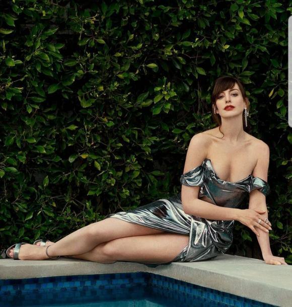Anne Hathaway,thân hình gợi cảm của Anne Hathaway,sao Hollywood