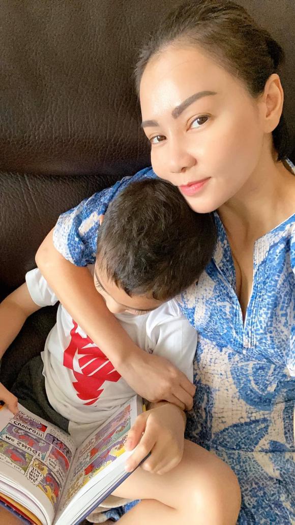 Thu Minh, nữ ca sĩ, con trai, bé Gấu,