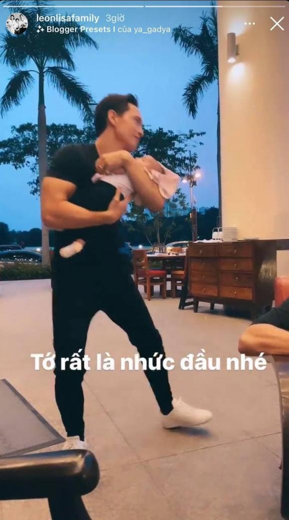 Kim Lý, Hà Hồ, sinh đôi, sao Việt