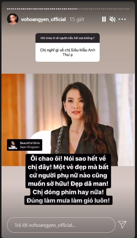 Võ Hoàng Yến, mỹ nhân Việt, Minh Tú, Hoàng Thùy, Mâu Thủy