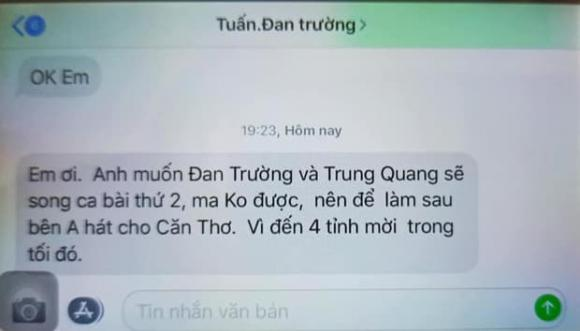 bầu Tuấn, ca sĩ Đan Trường, sao Việt