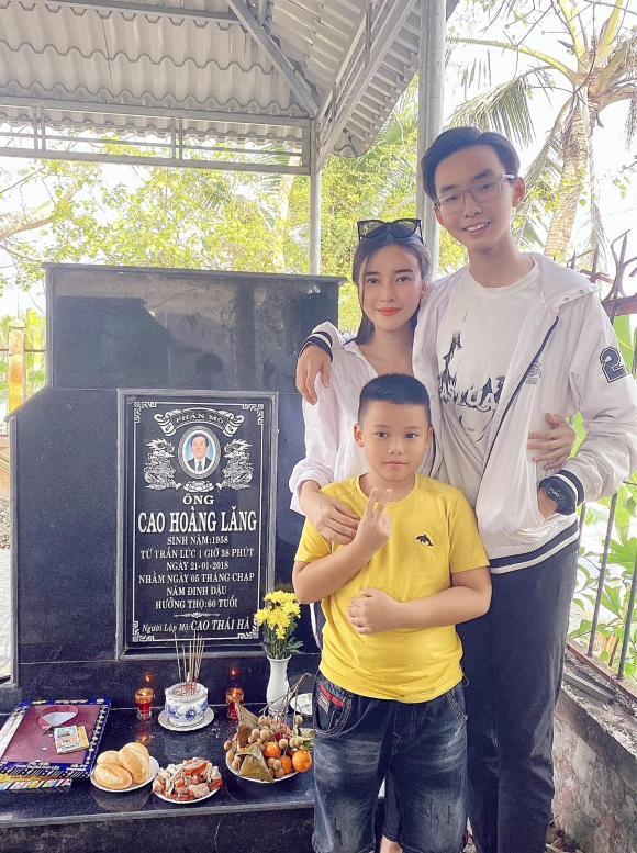Cao Thái Hà, ba Cao Thái Hà, sao Việt