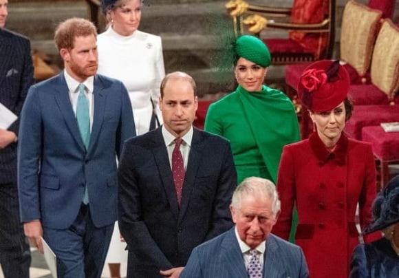 meghan markle, hoàng tử harry, công nương kate, hoàng gia anh