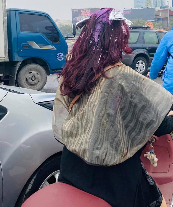 làm đẹp đón Tết, nhuộm tóc, phụ nữ