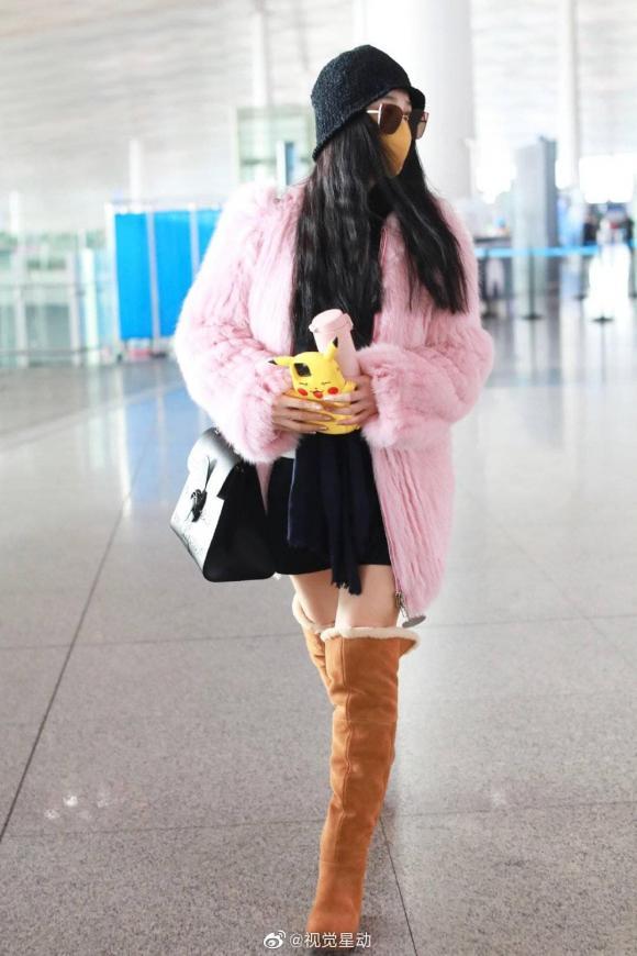 phạm băng băng, trên đông dưới hè, thời trang sân bay, sao hoa ngữ
