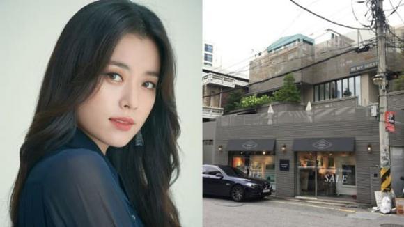han hyo joo, tòa nhà, nhà của sao, sao hàn