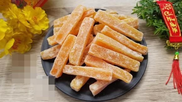 mứt khoai, cách làm mứt khoai lang, món ngon