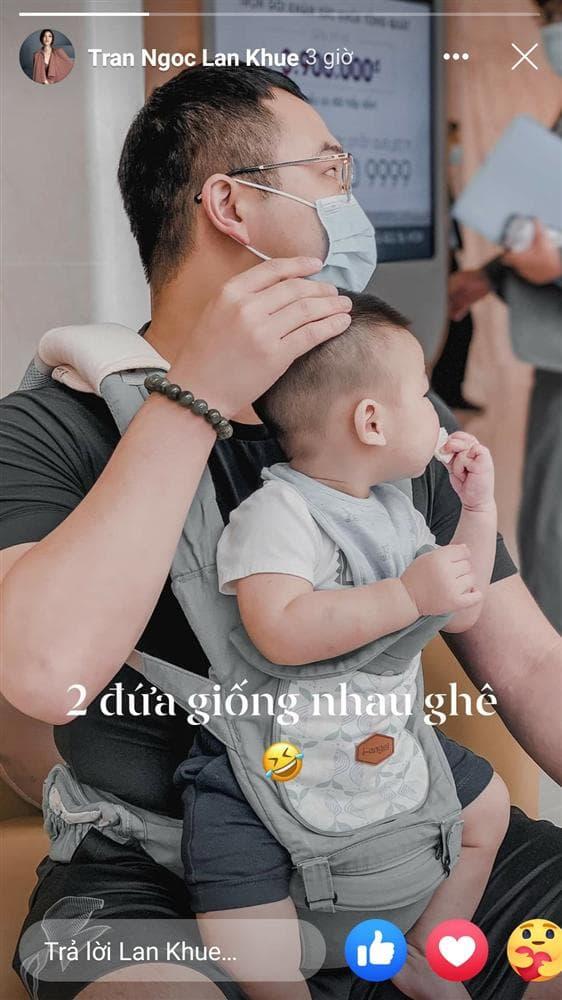 Lan Khuê, chồng mập, sao Việt