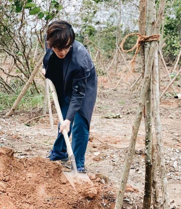 Hà Anh Tuấn, nam ca sĩ, trồng cây,
