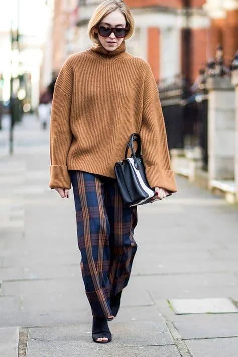 thời trang đẹp, thời trang cho mùa đông, thời trang kẻ ca rô