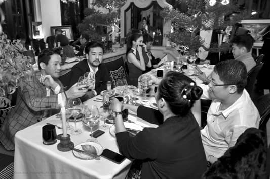 The Master's Odyssey, đại tiệc dành cho giới thượng lưu, giới siêu giàu Việt