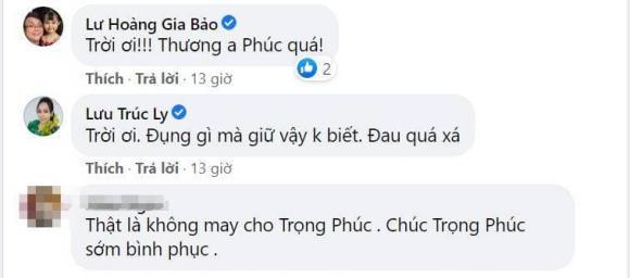 Nghệ sĩ Trọng Phúc, Tấn Beo, sao Việt,