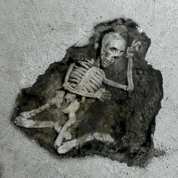trám nhà, tạo ra bộ xương, thanh niên