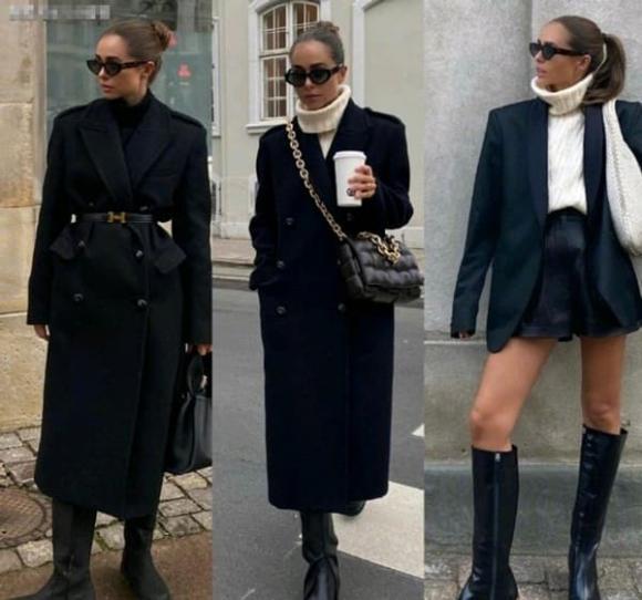 thời trang mùa đông, mặc đẹp ngày đông