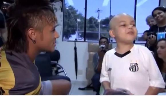 Sự thật cảm động sau màn nhảy hài hước gây bão mạng xã hội của Neymar lúc ghi bàn  3