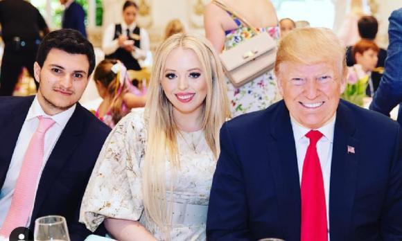 Donald Trump, Tiffany, ái nữ tổng thống Donald Trump