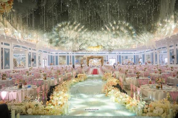 đám cưới cổ tích, siêu đám cưới, đám cưới người giàu