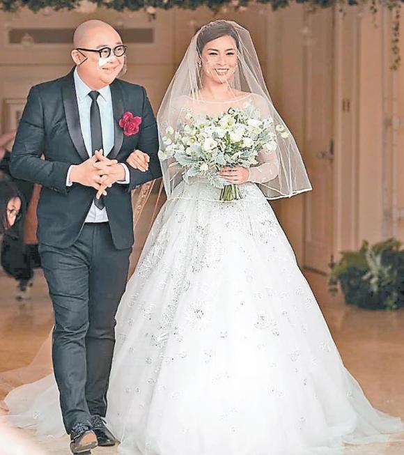Cựu Á hậu Hồng Kông Chu Tuệ Mẫn kết hôn ở tuổi 40 , sao TVB, sao Hoa ngữ, bê bối tình ái