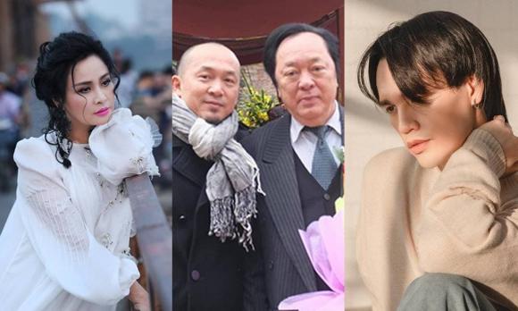 NSND Trung Kiên, đám tang NSND Trung Kiên, sao Việt, nhạc sĩ Quốc Trung, Diva Thanh Lam