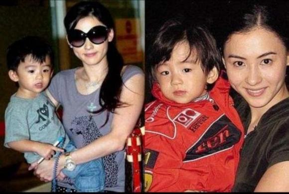 Tạ Đình Phong và Vương Phi, Tạ Đình Phong và Chương Bá Chi, cha ruột con thứ 3 của Trương Bá Chi
