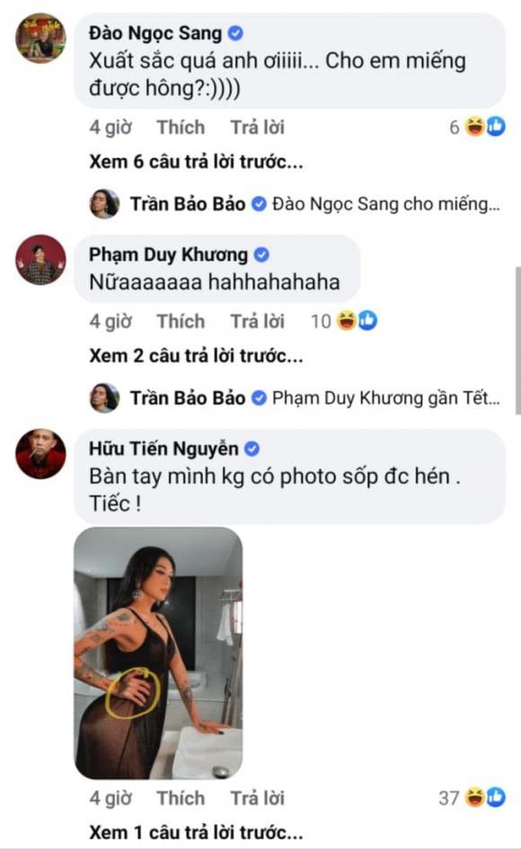 BB Trần, sao việt