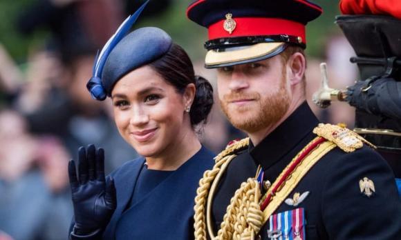 meghan markle, hoàng tử harry, mang thai, hoàng gia anh